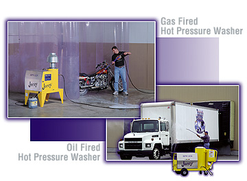 Hot Power Washers Electric Hot Pressure Washer Gasoline Hot Pressure Washer